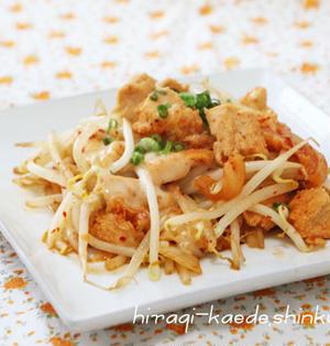 高野豆腐のキムチ炒め