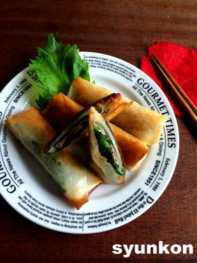 【めっちゃ簡単】大葉ベーコンチーズ春巻き(よ~いドン!のレシピをまとめました)