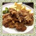 薄切り豚肉の唐揚げ(レシピ付)