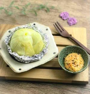【レシピ】丸ごと新玉ねぎのホイル焼き〜味噌マヨソース〜
