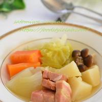 温まる野菜たっぷりポトフ♡ブーケガルニで風味アップ!