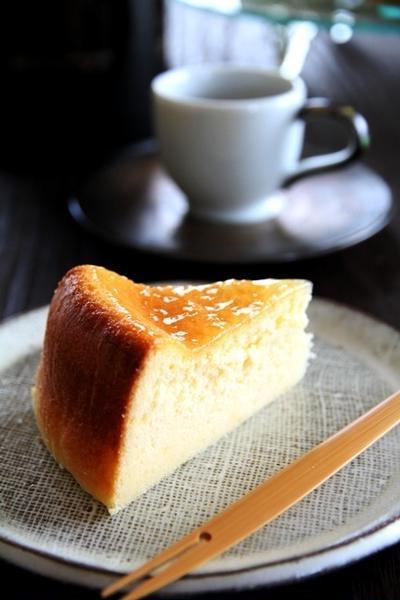 我が家のチーズケーキ*