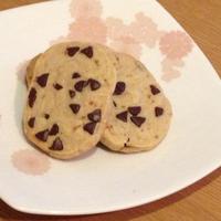 甘さ控えめ カルダモンのチョコチップクッキー