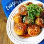 ♡簡単ヘルシー卵なし♡鶏ひき肉とはんぺん団子の生姜焼き♡【#時短#節約#かさまし#つくね#作り置き】