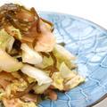 ちょっと大人の味☆白菜と塩こんぶの浅漬け☆ガリ風味☆