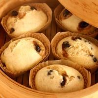 黒豆蒸しパン(まるぱん同好会)