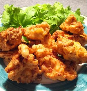 鶏むね肉で柔らか塩唐揚げ☆ヨーグルトで一晩 ♪