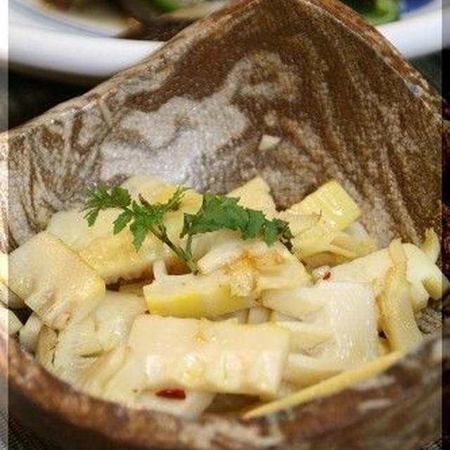 ◆筍のアーリオオーリオ