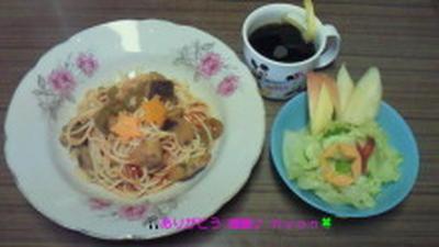 Good-morning Kyonの七夕パスタ&フルーツ~野菜サラダ~編じゃよ♪