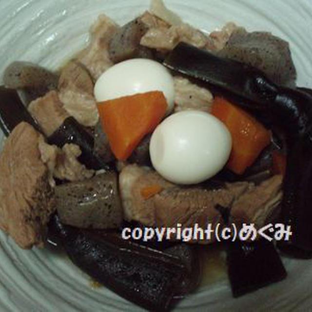 豚ばら肉のうま煮