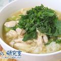 料理日記 188 / 鶏むね肉と大葉の出汁茶漬け(低温調理器使用)