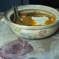 チーズごま坦々鍋