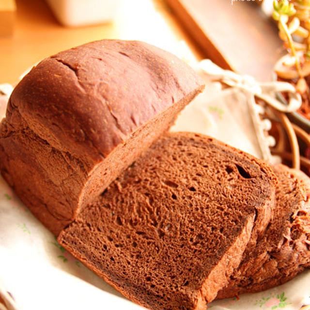 ミルクココア食パン☆チョコバナナホットサンド~