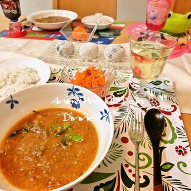 コストコのプルコギで絶品ハヤシライス と 『朝起きてすぐに焼いたパン』。