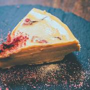 95℃ 簡単!濃厚な口どけ 桜のレアチーズケーキ