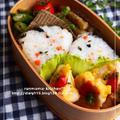 鶏ムネ肉のピカタ弁当。 by おがわひろこさん