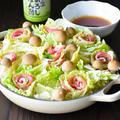 白菜と豚ばらバラ鍋 ミルフィーユの目線をかえて。