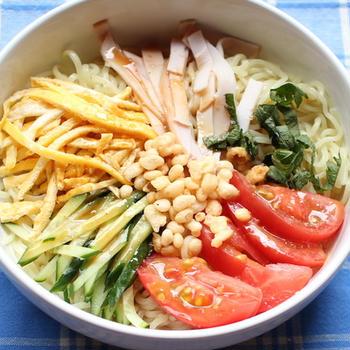 「あ〜〜こんな暑い日は冷やし中華が食べたい!」冷やし中華のレシピとおすすめのトッピング♪ #料理動画