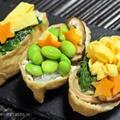 【ぎふベジ】ぎふベジでオープンいなり寿司 ~ 七夕の素麺いなりと野菜いなり。