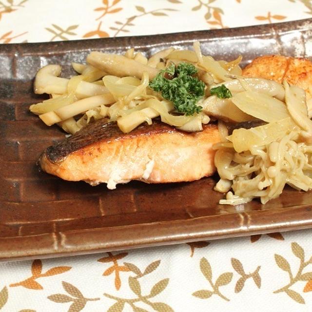 秋鮭のきのこソテー 調理時間15~30分