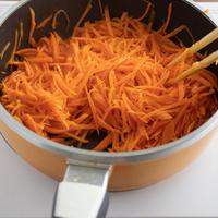 【米油レシピ】あると便利!にんじんの塩きんぴら