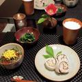 冬の土用の丑にひつまぶし風&里芋料理