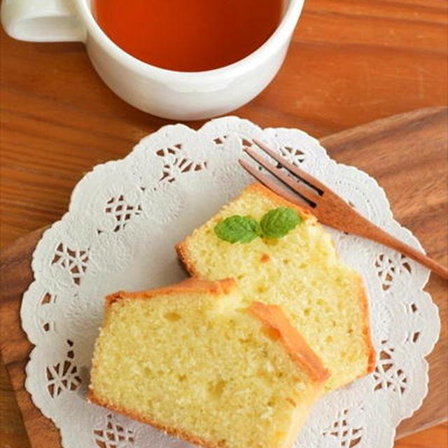 ホットケーキミックスで♪爽やか~すだちパウンドケーキ ☆