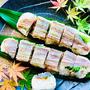 香味鯛の納豆棒寿司