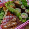 豚肉野菜ロールスパイシー味