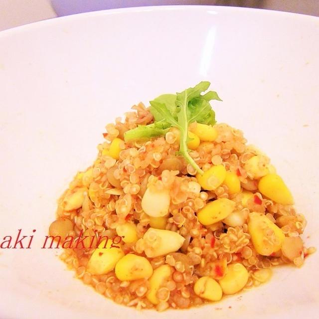 キヌアのリゾット♡スーパーフードのお料理レシピ