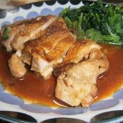 チキンの照り焼き シナモン風味