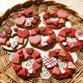 3連休、ひたすらアイシングクッキー(笑) ~バレンタイン♡ラブリークッキー~