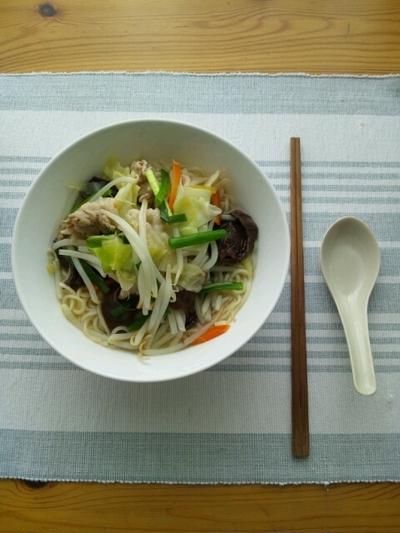 1日1/3の野菜が摂れるタンメン