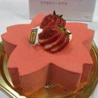 桜のケーキ、集合☆西武食品館 試食会