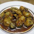 牡蠣のクローブ風味ソテー