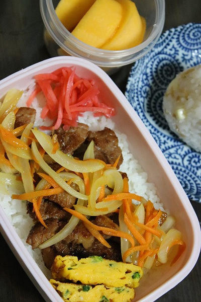 10月11日  宮崎産 豚肉の味噌漬け焼き弁当