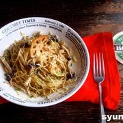 【簡単カフェパスタ】きのこのにんにくマヨ醤油スパゲッティ