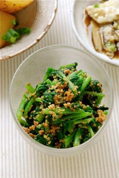 Spinach with Sesame Dressing