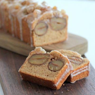 栗の季節がやってきた*秋のぜいたくマロンケーキ