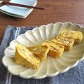 簡単アレンジ卵焼き☆納豆の出汁巻き卵