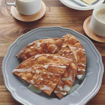 トルティヤ揚げるだけ!5分でメキシコの揚げ菓子「ブニュエロ」 #KALDI #TVで紹介レシピ