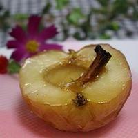 ココナッツオイルで焼きりんご