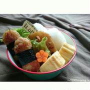 お弁当に〜マヨめんつゆで簡単カニカマチーズのり巻きナゲット〜一正蒲鉾✖Nadiaレシピコンテスト
