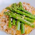 一皿で栄養満点!ひよこ豆とアスパラのポレンタ載せ【プラントベース/グルテンフリー】