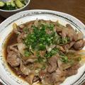 すき焼きのタレ使用♡「豚肉と玉ねぎの甘辛炒め煮」