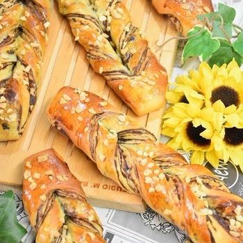【cottaレシピ】ショコラツイストパン