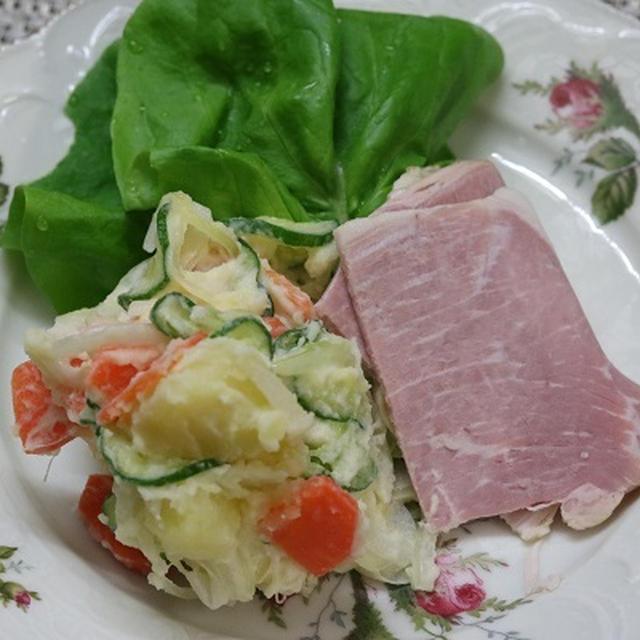 レシピ ポテトサラダとロースハム