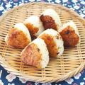 香ばし味噌の焼きおにぎり。 by musashiさん