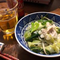 群馬県産嬬恋高原キャベツをまるごと1玉使用~白だしで作る☆我が家のもつ鍋をご紹介♪