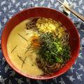 冷やし★山かけたぬき蕎麦 & おそとごはん ~チャイナ ドール・の巻~